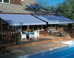 dual durasol awnings from Innovative Openings in Louisville, CO. Call us at 303-665-1305