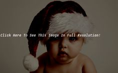 Santa Claus Baby Christmas Wallpaper HD