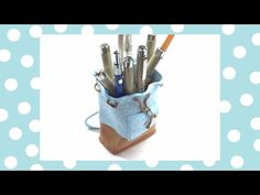 Polymer clay (Fimo) Backpack- Pen Holder