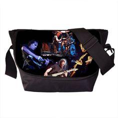 Rock Band Metallica Messenger Bag Young Men Women Street Punk Shoulder Bags Nirvana Travel Bag Skull Cross Bags For Teenagers