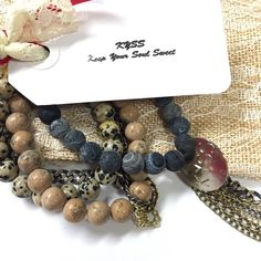 KYSS Everyday Set by KYSSBracelets on Etsy