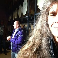 "Me at the ""barrel-fill-up"" event at the #brennereiziegler #germany . This was awesome please check our https://youtu.be/Hx128Qd4X3s for more informations! #the_real_ironfinger #axelritt #gravedigger #whisky #whiskey #distillery #barrel #barrels #whiskybarrel #sınglemalt #guitar #bass #framus #warwick"