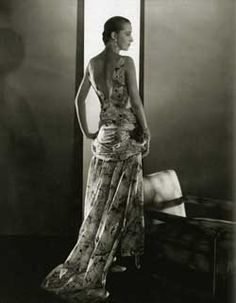 Marion Morehouse (1906 - 1969), the American model, was a favourite, during the 1920s and 1930s, of numerous Vogue and Vanity Fair photographers such as Cecil Beaton, Baron George Hoyningen-Huene or Edward Steichen who described her as 'the greatest fashion model I ever photographed.' Tall, thin with brown eyes and a narrow face inherited from her native American ancestry, She was often compared to a Modigliani painting.
