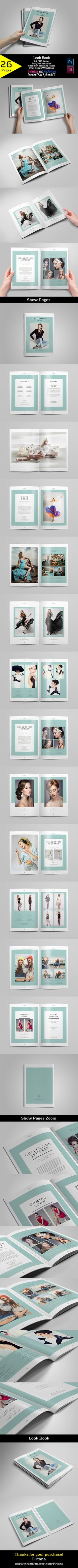 Fashion Lookbook on Behance
