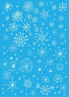Snowflake scrapbook paper - light