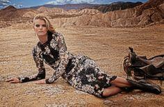 Vogue Spain July 2014   Kate Grigorieva by Mariano Vivanco
