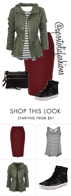 """Apostolic Fashions #1301"" by apostolicfashions ❤ liked on Polyvore featuring River Island, Splendid and Rebecca Minkoff"