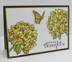 Stampin' Up! - Gorgeous - Best Thoughts! .... Teri Pocock - http://teriscraftspot.blogspot.co.uk/2015/08/gorgeous-best-thoughts.html