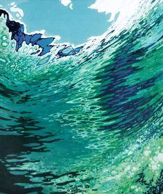 "Saatchi Art Artist Margaret Juul; Painting, ""Under Clear Sky"" #art"