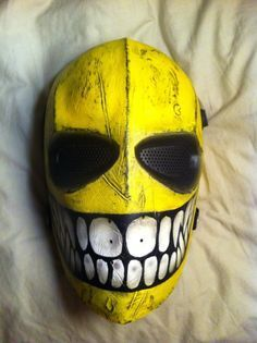"""France-Airsoft > Groupe """"army Of Two - Style Mascaras Halloween, Halloween Masks, Army Of Two, Gamer Tags, Paintball Mask, Monster Mask, Clown Faces, Live Wallpaper Iphone, Cool Masks"""