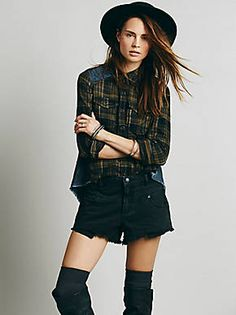 Free People We The Free Roadtrip Flannel, $118.00