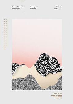 oculto - white, pink, gold