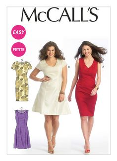 M6920 | Misses'/Miss Petite/Women's/Women's Petite Dresses