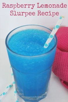 Free Slurpee Day at 7-11 should be coming up soon but if you don't want to wait until then or don't live near a 7-11, then try this copycat slurpee recipe!