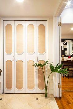 A Manhattan rental closet gets a major upgrade #makeovers #diy #closets