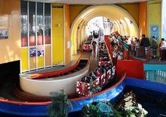 Gorgeous station for Big Dipper, Blackpool Pleasure Beach, UK