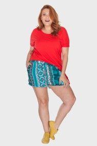 Shorts Plus Size | Roupas | Loja Flaminga