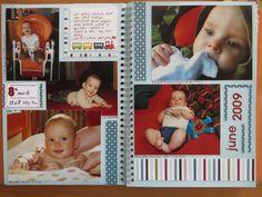 Orange Smashbook - 8th month