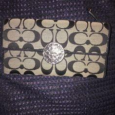 Coach wallet Signature c pattern Coach Bags Wallets