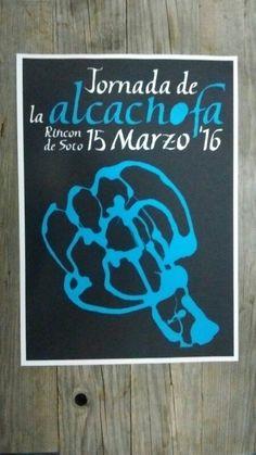Cartel Jornadas Alcachofa Rincón de Soto V2