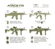 How to paint Atacs FG (1). You can buy Landscape Camouflage Stencils here: https://grey-shop.ru/Accessories-Other/Camo-Stencils http://www.russian-thunder.com/#!landscape-stencils/cpxv