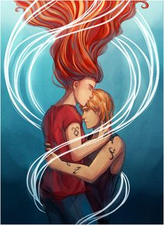 """""""I was in the dark,"""" he said softly. """"There was nothing there but shadows, and I was a shadow, and I knew that I was dead, and that it was over, all of it. And then I heard your voice. I heard you say my name, and it brought me back."""" - Jace & Clary, City of Glass"""