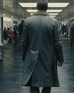 Blade Runner 2049 K coat Cyberpunk Character, Cyberpunk Art, Blade Runner 2049, Dark City, Ryan Gosling, Sci Fi, Long Coats, Film, Project Ideas