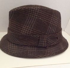 ca6b634648d Dobbs Fedora Hat Mens Vintage Cashmere Size 7 1 8 Golden Coach