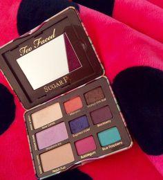 Too Faced Sugar Pop #eyeshadow palette.  Beautiful summer colors