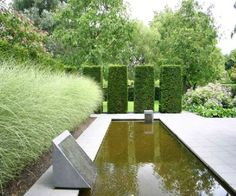 Mien Ruys Planting Design: Ornamental Grass Hedges