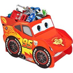 Home Disney Cars Lightening McQueen Extra Large Toy Box