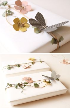20 easy pop-out butterflies and flowers | design: jurianne matter