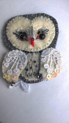 Owl- sova brošňa