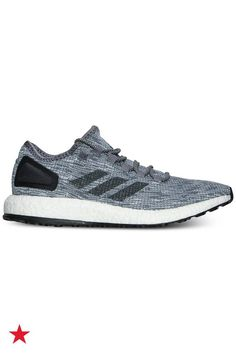 Lightweight and durable, these adidas men's Pure Boost running shoes will be his new go-to trainers. Visit macys.com for these and more activewear sneakers!