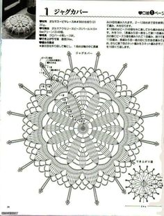 Crochet Doilies with Beads - Judy Taylor - Picasa Web Albums Filet Crochet, Crochet Diagram, Crochet Round, Crochet Home, Thread Crochet, Irish Crochet, Crochet Stitches, Knit Crochet, Crochet Cushions