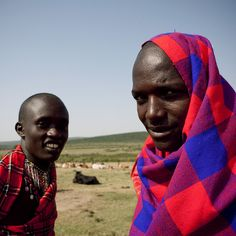 Maasai herdsmen - Kenya | Cold morning for the Masais! Somet… | Flickr