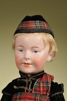 Armand Marseille Character Boy | Sale Number 2476, Lot Number 276 | Skinner Auctioneers