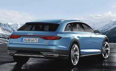Prologue Allroad Audi concept car