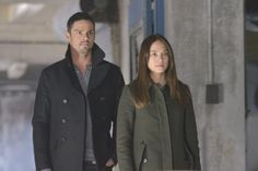 """""""Cat and Mouse"""" - Jay Ryan as Vincent and Kristin Kreuk as Catherine #BATB"""
