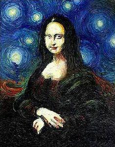 The Persistence of Memory [Adam Strange] (Gioconda / Mona Lisa)