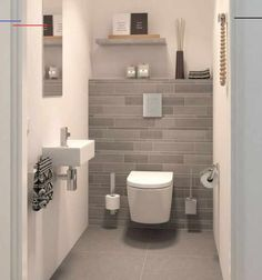 Cloakroom design ideas for your downstairs toilet - Victorian Bathrooms Small Toilet Design, Bathroom Design Small, Bathroom Interior Design, Small Bathrooms, Cloakroom Ideas Small, Modern Toilet Design, Bathroom Ideas Uk, Bathroom Layout, Interior Ideas