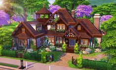 Cottage Hütte The post Hütte appeared first on Rose Dickson. Sims 4 Ps4, Sims 3, Sims 4 Mods, Sims 4 House Plans, Sims 4 House Building, Sims 4 House Design, Casas The Sims 4, Sims 4 Build, Sims 4 Cc Finds