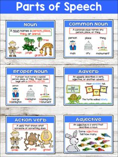 Grammar Posters - Primary Flourish