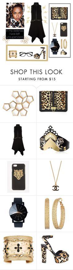 """Fierce Cheetah"" by belen-cool-look ❤ liked on Polyvore featuring Eichholtz, BCBGMAXAZRIA, Elie Saab, Nuit N°12, Missguided, GUESS, Aurélie Bidermann, Giuseppe Zanotti and EyeBuyDirect.com"