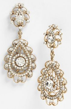Tasha Ornate Teardrop Earrings | Nordstrom