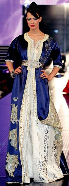 Awesome collection of Moroccan caftan abaya dresses ideas for function (1)