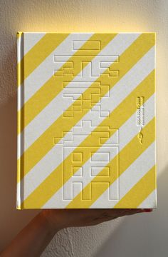 Stripes | book cover juxtaposition of styles printed pattern and embossed pattern
