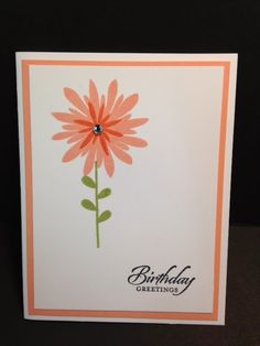 Flower Patch, Gift Pack of Greeting Cards, Stampin' Up!, Rubber Stamping, Handmade Cards
