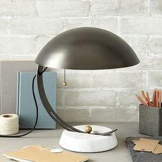 Half Moon Desk Lamp #westelm