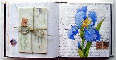 Watercolors by Maria Stezhko (Акварели Марии Стежко): Iris